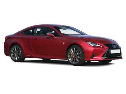 Lexus Rc Coupe 300h 2.5 2dr CVT [Sunroof]