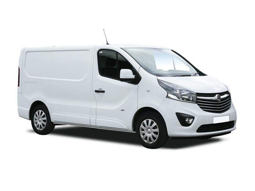 Vauxhall Vivaro L2 Diesel 3100 2.0d 120PS Edition H1 D/Cab