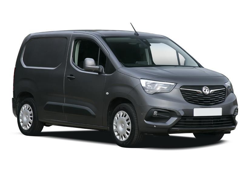 Vauxhall Combo Cargo L2 Diesel 2300 1.5 Turbo D 100ps H1 Sportive Crew Van