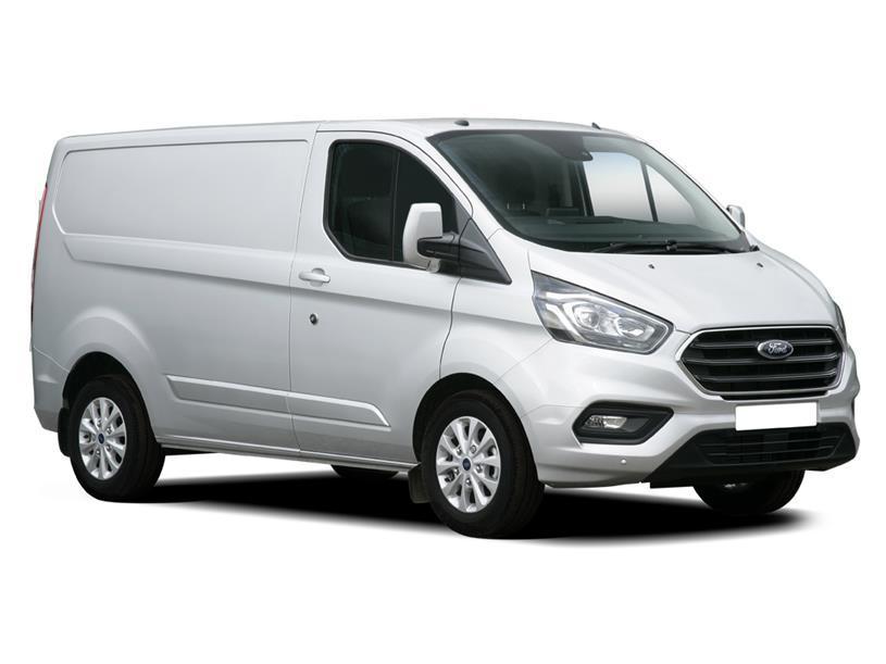Ford Transit Custom 300 L2 Diesel Fwd 2.0 EcoBlue 130ps Low Roof D/Cab Leader Van