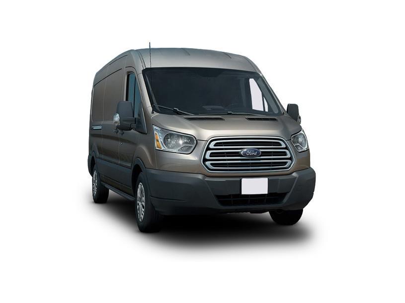 Ford Transit 350 L3 Diesel Fwd 2.0 EcoBlue 170ps H2 Trend Double Cab Van Auto
