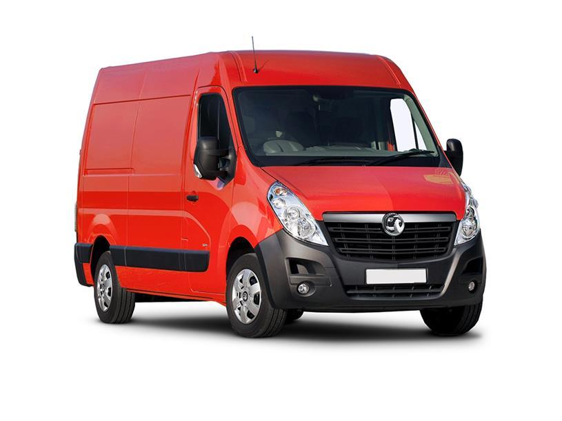 Vauxhall Movano 3500 L3 Diesel Fwd 2.3 Turbo D 150ps H2 Van