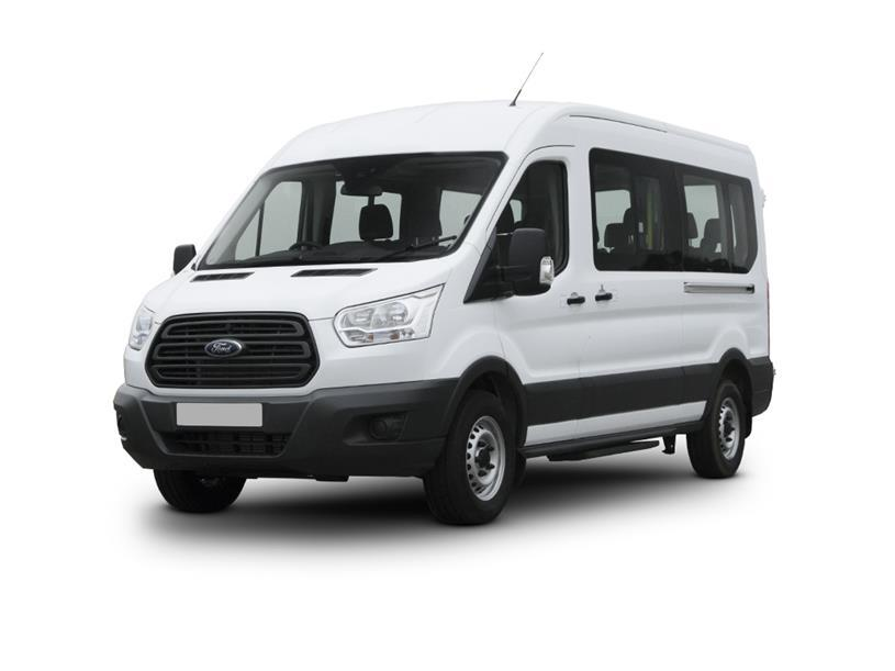 Ford Transit 410 L3 Minibus Diesel Rwd 2.0 EcoBlue 170ps H3 14 Seater Trend Auto