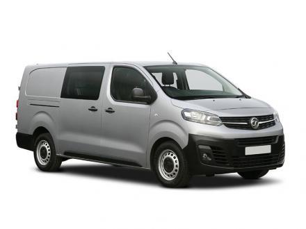 Vauxhall E-vivaro L2 3100 100kW Elite 75kWh H1 D/Cab Auto