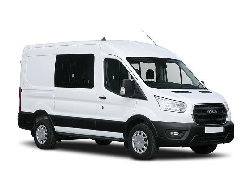 Ford Transit 500 L5 Diesel Rwd 2.0 EcoBlue 170ps HD Emissions Double Cab Chassis
