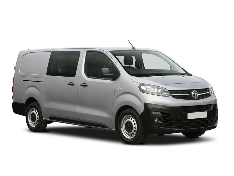Vauxhall Vivaro L2 Diesel 3100 2.0d 145PS Elite H1 D/Cab