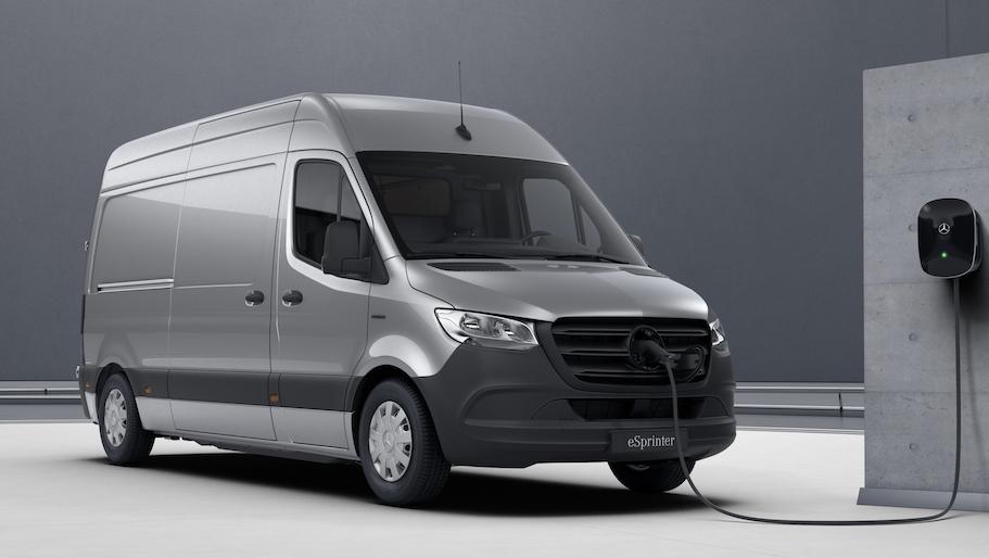 New Mercedes-Benz Van Brochures
